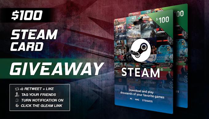SORTEIO $100 em jogos na steam!