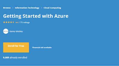 free Coursera course to learn Azure and AZ-900