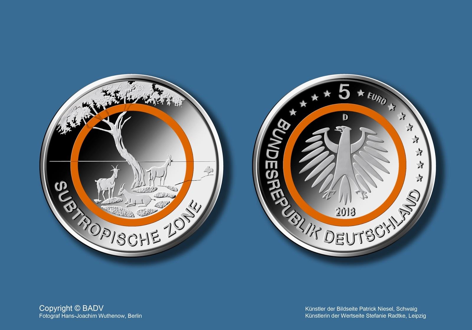 5 Euro M Nze Offizielles Zahlungsmittel Woodenbild