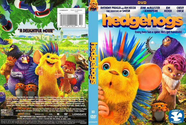 Hedgehogs DVD Cover