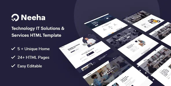 Technology IT Solutions & Services Website Theme