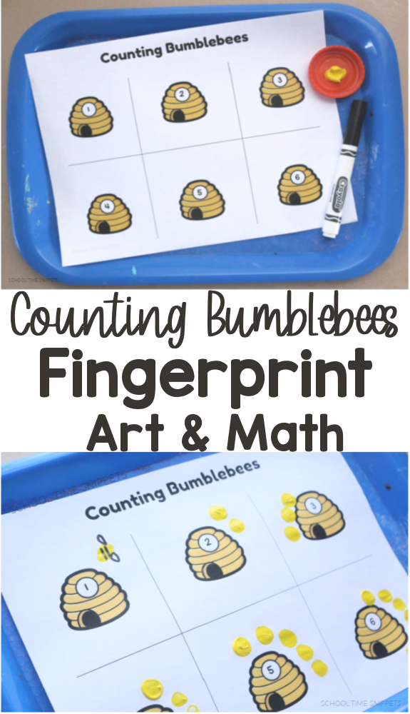 bumblebee fingerprint art