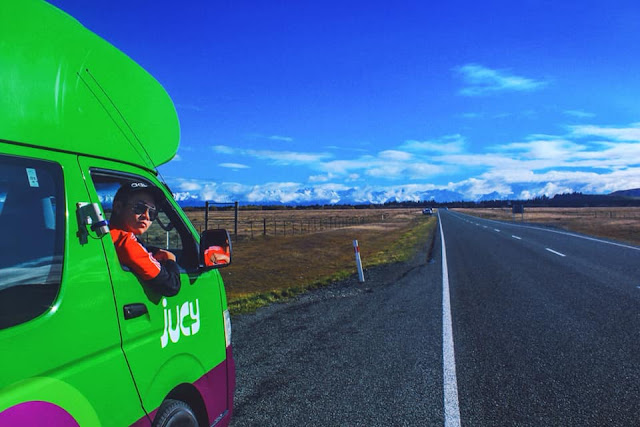 Ray Tan 陳學沿 (raytansy) ; Jucy World 房车 Camper Van Raytansy 新西兰 澳洲 美国 New Zealand Australia United States