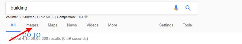 Search bar Google