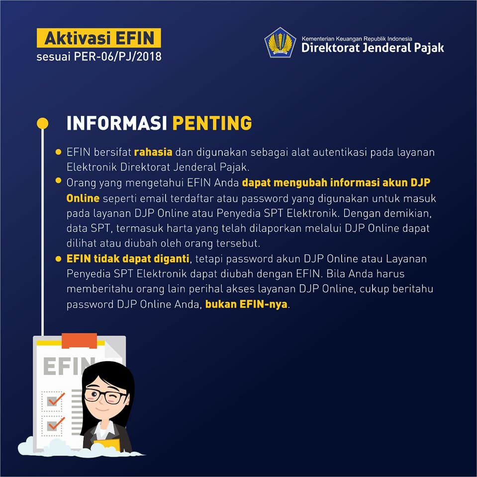 Info EFIN Pajak