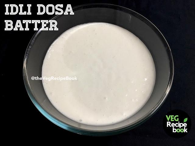Dosa Batter Recipe