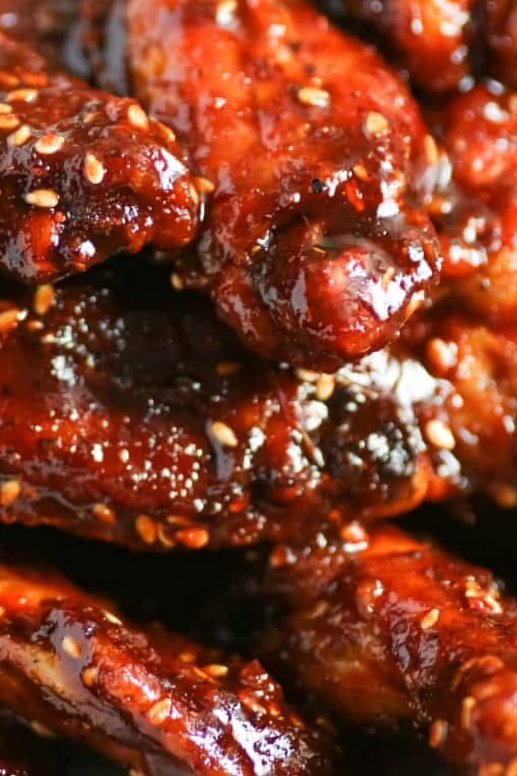 Chicken Wings with Angry Sauce