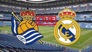 مباراة ريال ضد ريال سوسيداد و القنوات والتطبيقات الناقلة