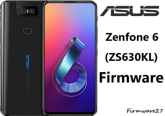 ASUS Zenfone 6 (ZS630KL) Firmware