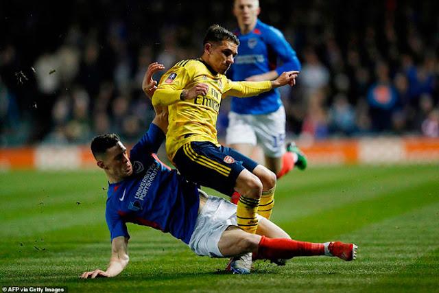 Video Portsmouth 0-2 Arsenal: Vất vả mở điểm, sao trẻ chốt hạ