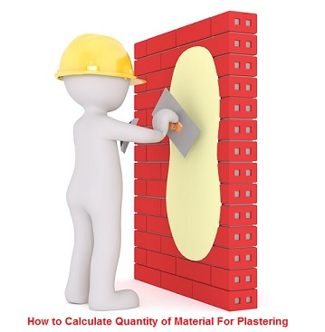 How to Calculate Quantity of Material For Plastering