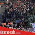 Massa Pro-Kontra RKUHP dan UU KPK Nyaris Bentrok, Akses Jalan Gatsu Lumpuh