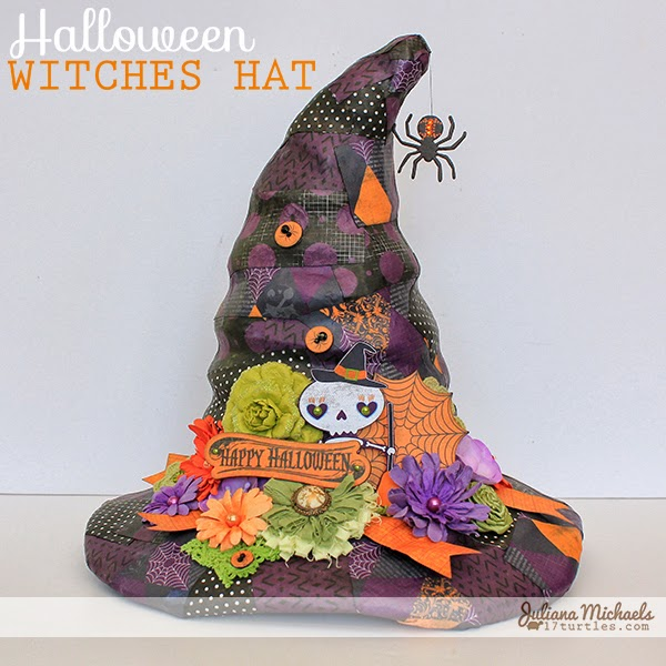 Halloween Witches Hat by Juliana Michaels