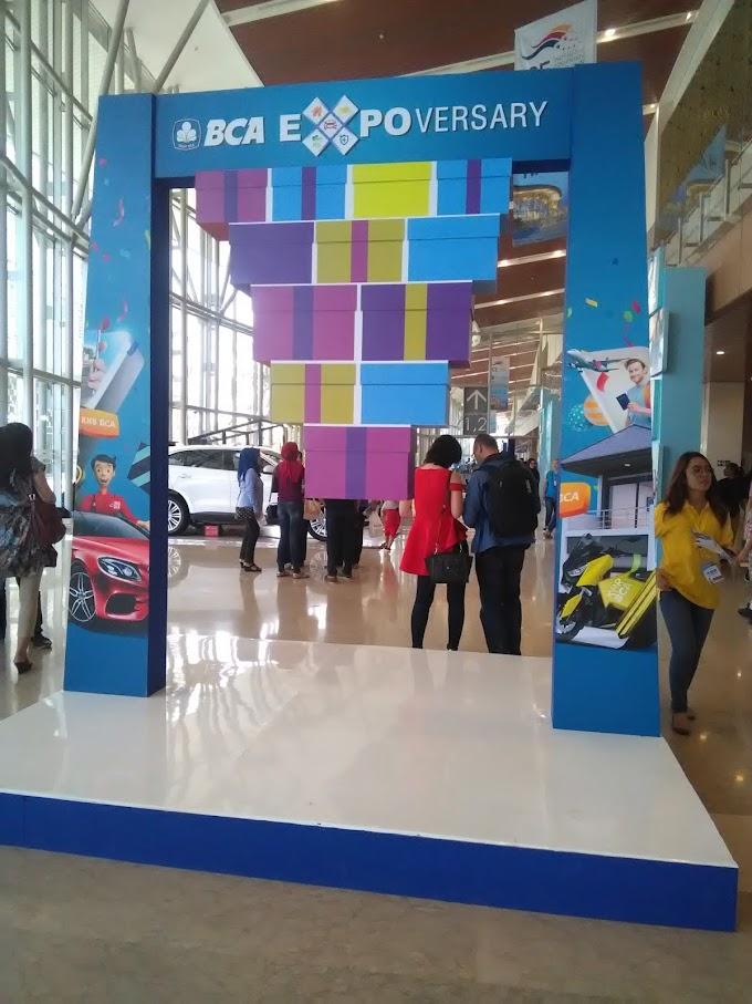 BCA Expoversary 2018 Inovasi  dan Solusi Bank BCA untuk Memanjakan Nasabah