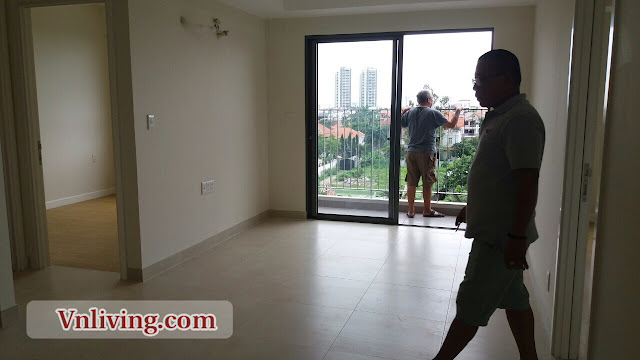 Unfurnished 2 bedrooms for rent in Masteri Thao Dien apartment
