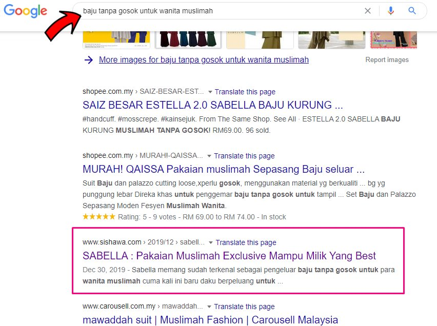 servis review blog 1st pages google search