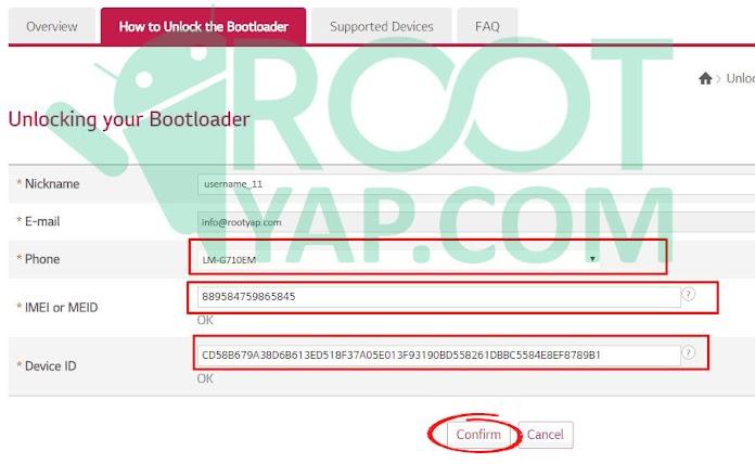 LG Bootloader Kilidi Kaldırma