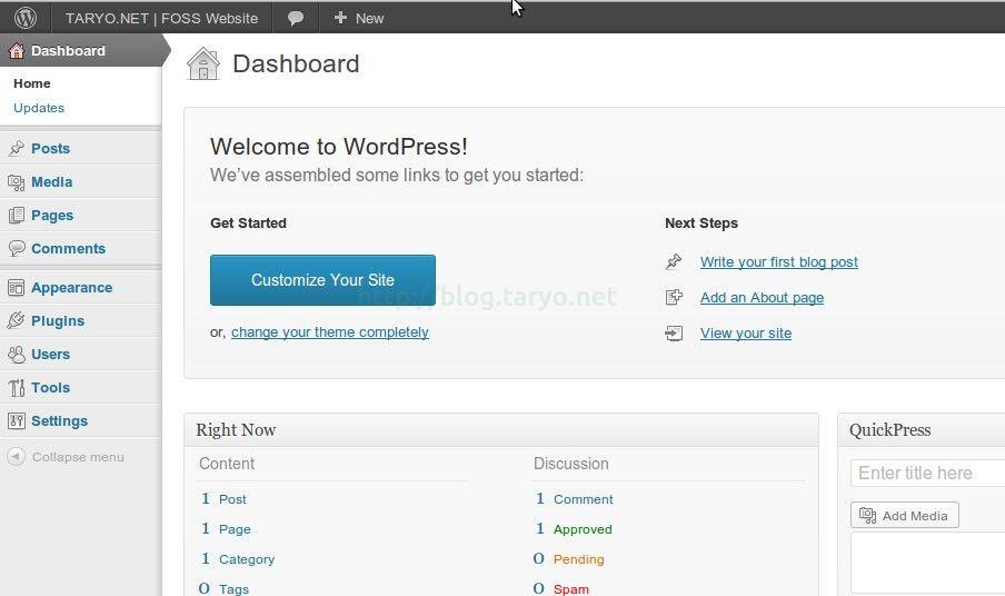 Panduan Installasi WordPress Versi Terbaru di Localhost Via