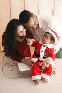 ensaio fotografico natal família