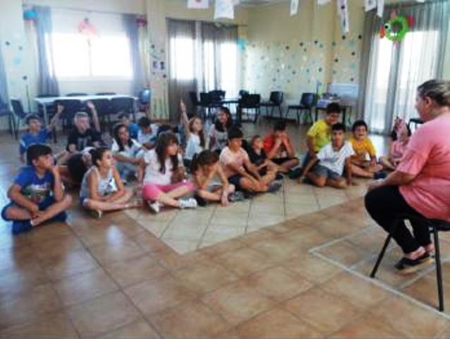 Τα παιδιά της ΚΑΤΑΣΚΗΝΩΣΗΣ ΣΤΗΝ ΠΟΛΗ μαθαίνουν για την Αντηλιακή Προστασία (ΦΩΤΟ)