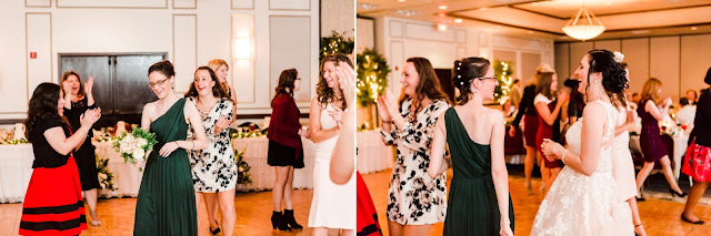 Fall Wedding in Bowie MD at Ascension Catholic Church and Comfort Inn & Conference Center | Photos by Heather Ryan Photography