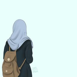 best muslimah cartoon art
