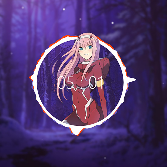 Zero Two V2 1 Audio Curves Snow Forest Wallpaper Engine Download Wallpaper Engine Wallpapers Free
