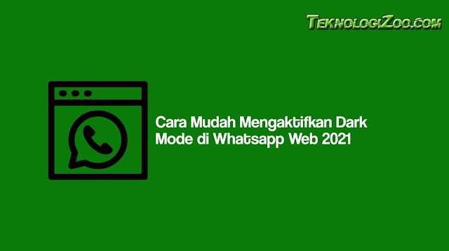 Dark Mode WA Web