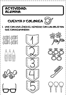 actividades de matemáticas para preescolar de 6 años