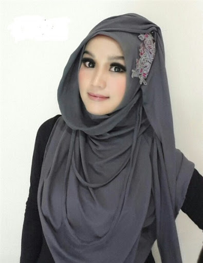 model hijab paris terbaru