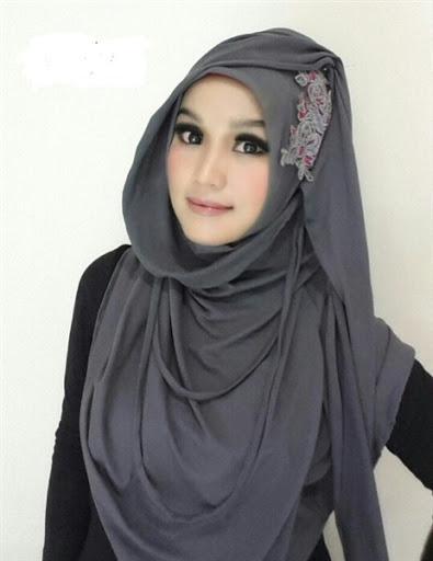 model hijab paris terbaru