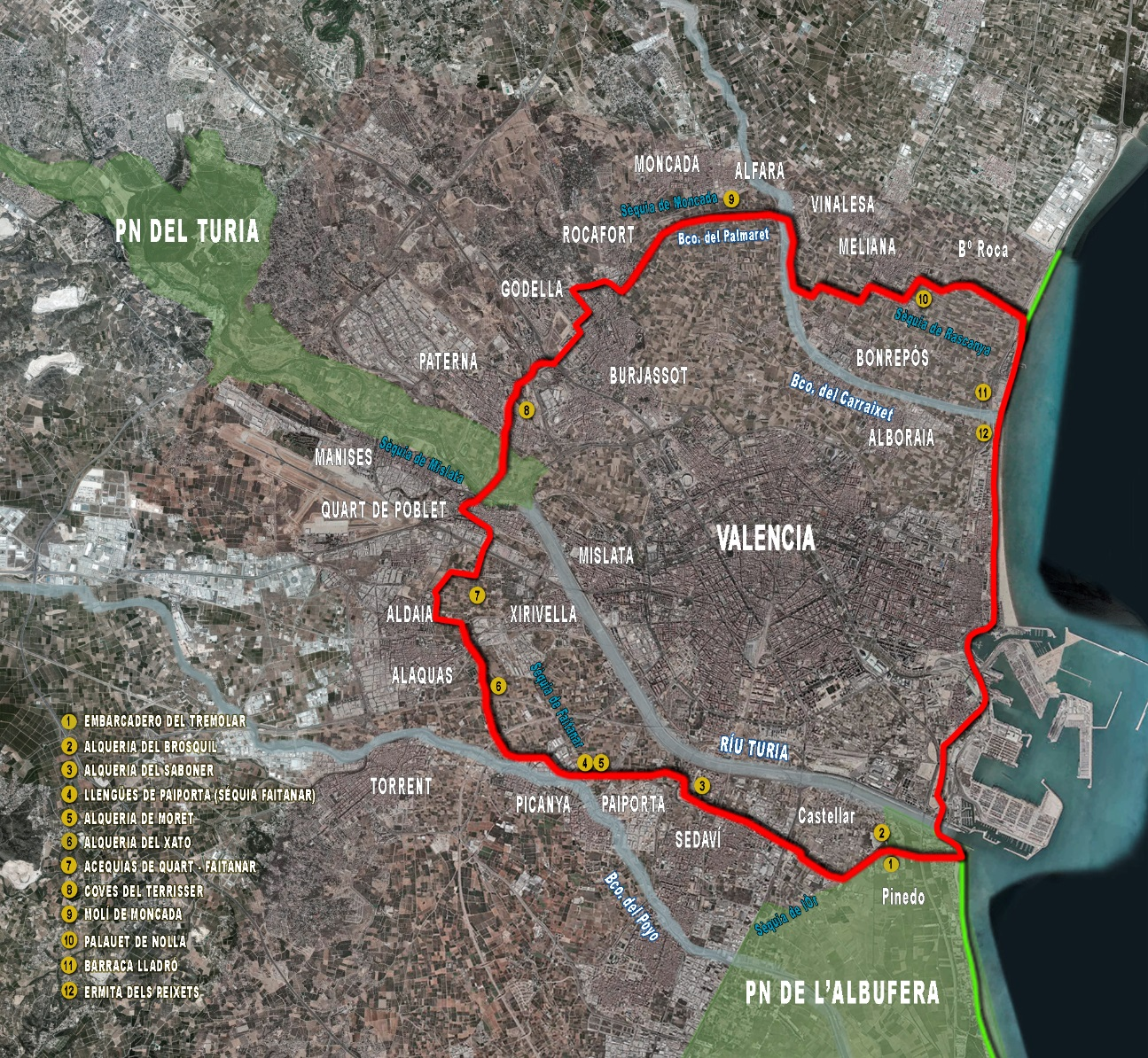 Cycling in Valencia - Urban cycling infrastructure in Valencia