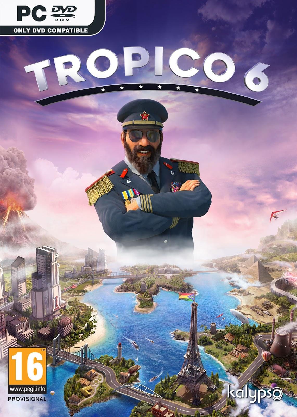 Descargar Tropico 6 PC Cover Caratula