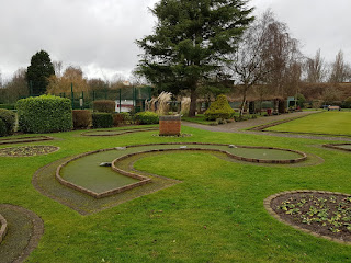 Crazy Golf at Vickersway Park in Northwich