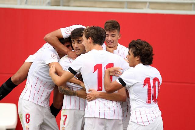 fotos Sevilla FC Juvenil A - Salzburgo