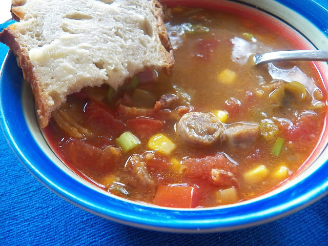 Never the Same Twice soup for #SoupSaturdaySwappers