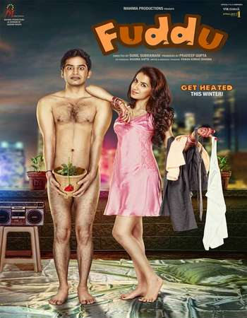 Poster Of Bollywood Movie Fuddu 2016 300MB Pdvd Full Hindi Movie
