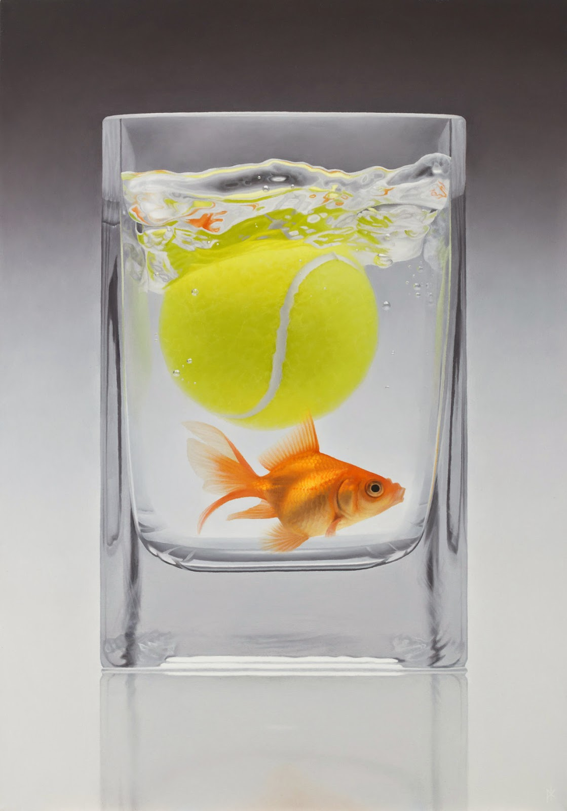 11-Fetch-Patrick-Kramer-Hyper-Realistic-Paintings-www-designstack-co