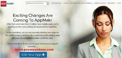 membuat aplikasi android tanpa coding dengan appmakr