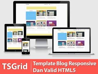Free Ts Grid HTML5 Template cho Blogspot