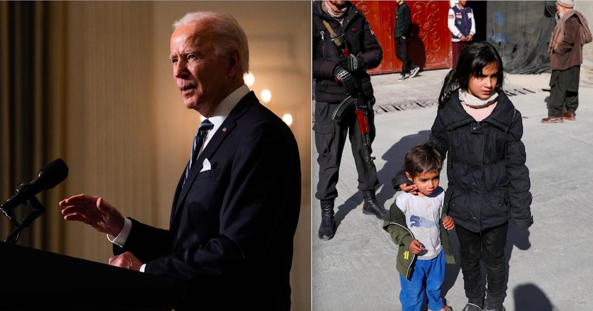 Joe Biden Authorises $100 Million In Emergency Funds For Afghan Refugees