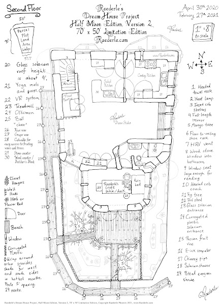 Second Floor of Raederle's Dream Home Project Version 2