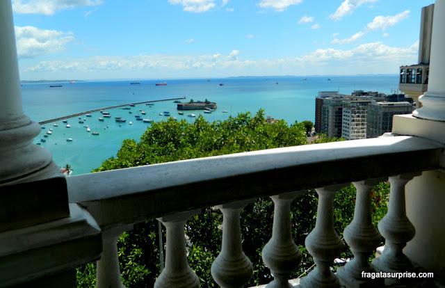 Baía de Todos os Santos vista do Palácio Rio Branco