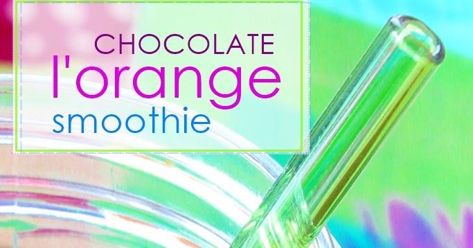 Chocolate Orange Smoothie: Raw Food Smoothie Recipe