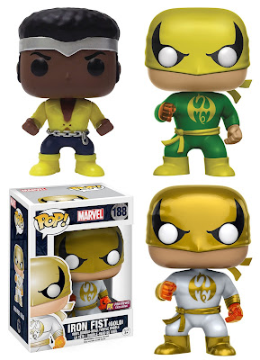 Heroes for Hire Luke Cage & Iron Fist Pop! Marvel Vinyl Figures by Funko