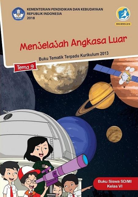 Kelas 6 Tema 9 Menjelajah Luar Angkasa www.simplenew.me