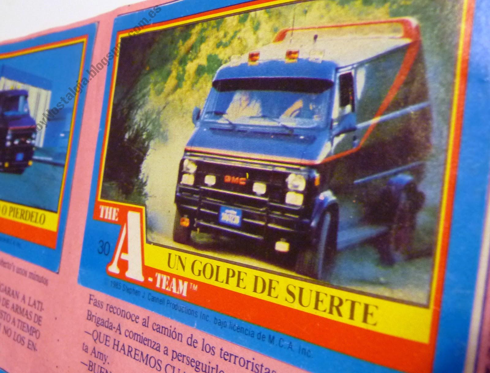 Colección The-A-Team 1984