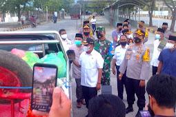 Pantau Posko Pam Operasi Ketupat Rinjani 2021, Ini Harapan Dandim 1628/SB