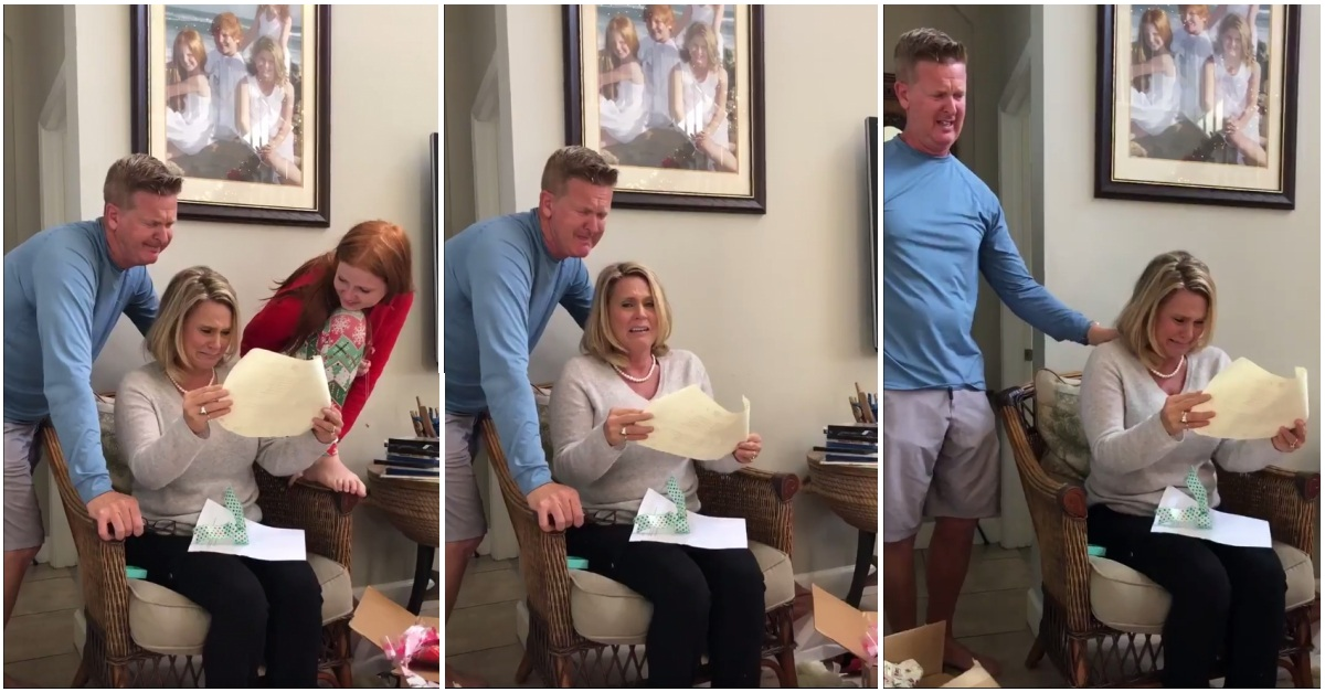 21-Year-Old Uses His First Paycheck To Pay Off His Parents' Mortgage For Christmas
