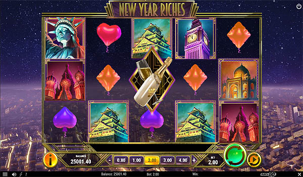 Main Gratis Slot Indonesia - New Year Riches (Play N GO)